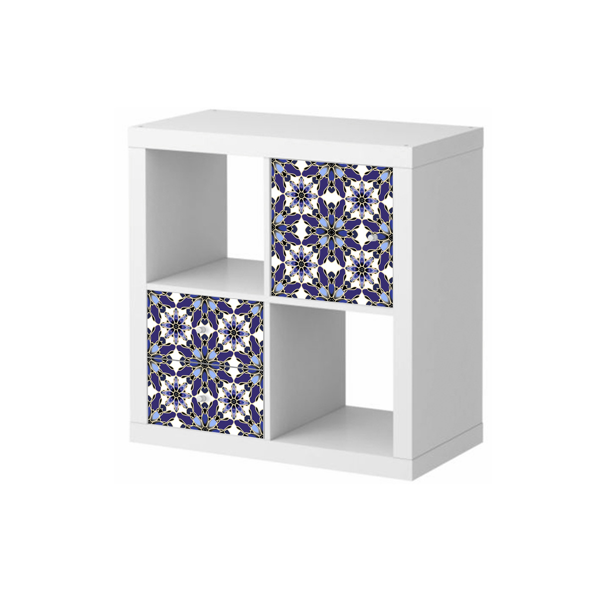Stickers meubles ikea stickers meubles ikea vitrail en bleu ambiance - Ameublement ikea ...