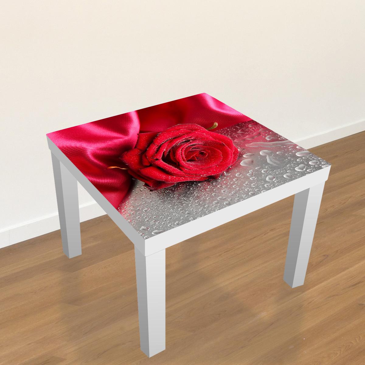 Stickers meubles ikea stickers meubles ikea rose en for Stickers pour meuble