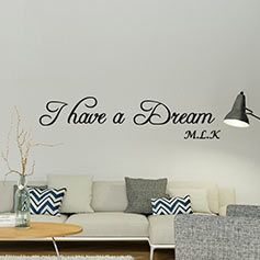 stickers muraux citation d co stickers texte chambre ambiance sticker. Black Bedroom Furniture Sets. Home Design Ideas