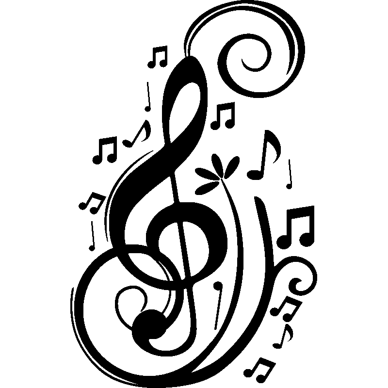 Sticker Musique Notes Design Stickers Musique Amp Cinema