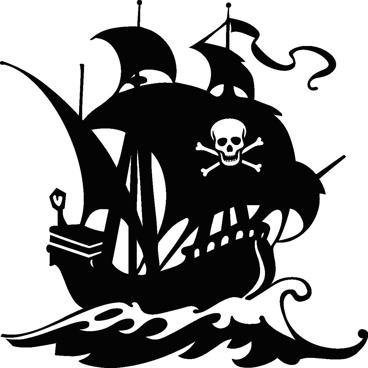 stickers muraux pour les enfants sticker navire pirate