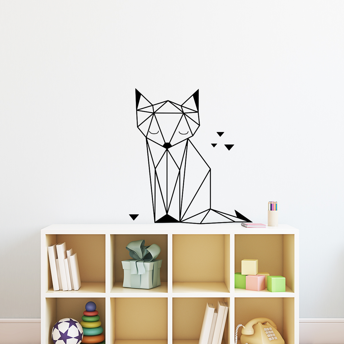 maison du monde renard origami good affiche renard et. Black Bedroom Furniture Sets. Home Design Ideas