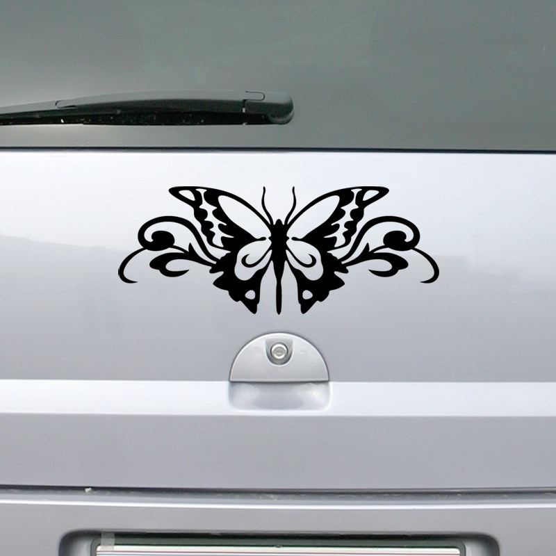 stickers voiture papillon. Black Bedroom Furniture Sets. Home Design Ideas