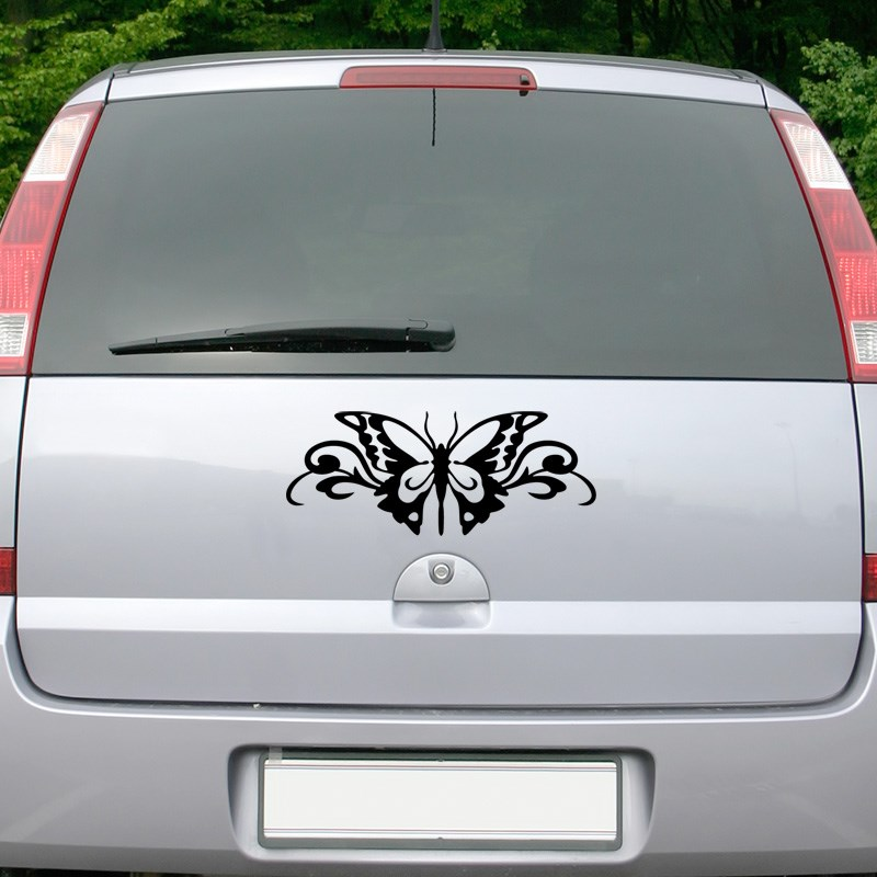 stickers et autocollants voiture sticker papillon ambiance. Black Bedroom Furniture Sets. Home Design Ideas