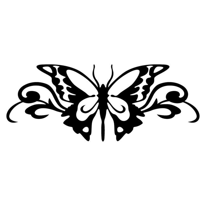Stickers et autocollants voiture sticker papillon - Tribal papillon ...
