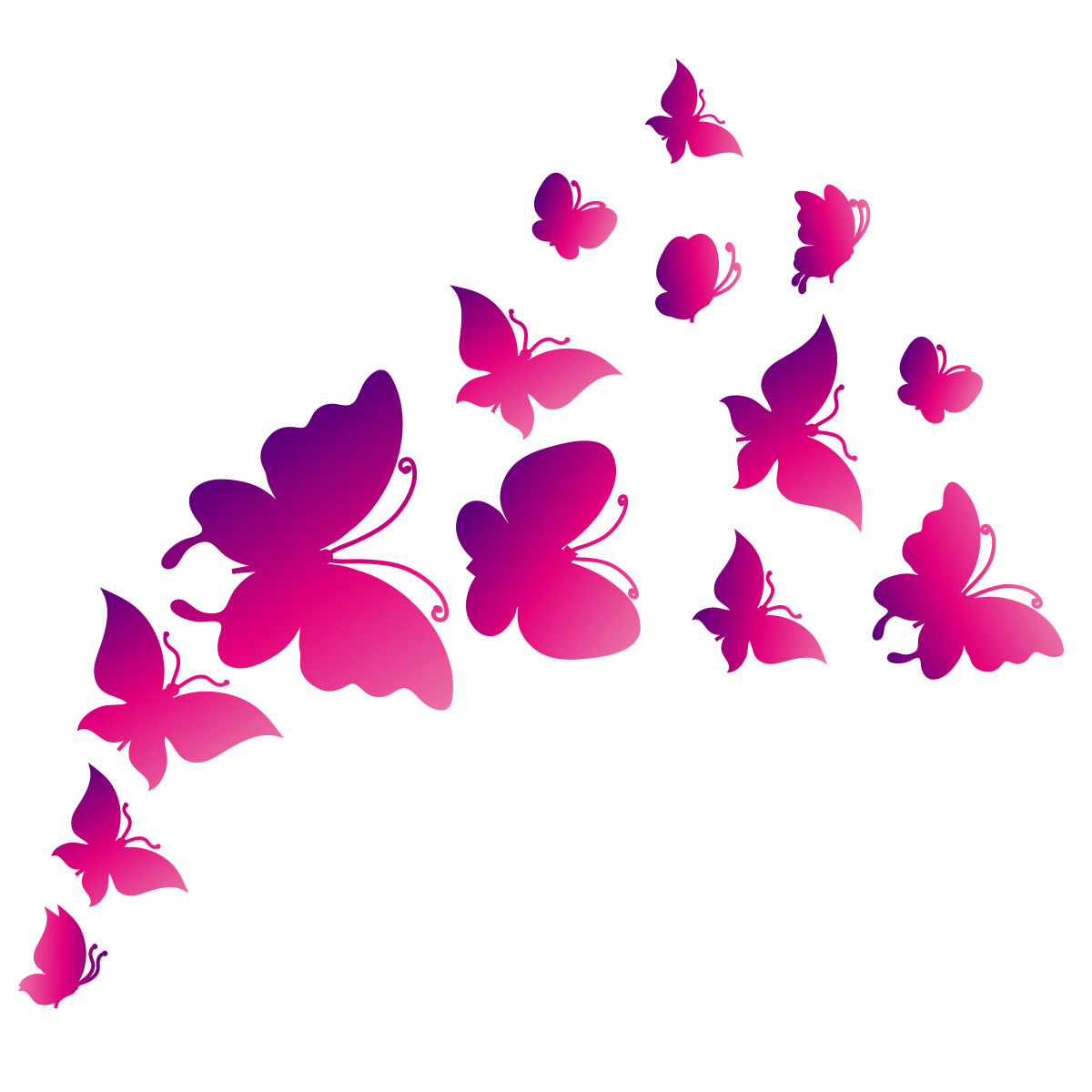 3d Butterfly Wall Stickers Wall Sticker Mural Decal Paper