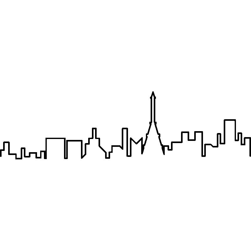 Name stickers villes et voyages ambiance sticker - Stickers muraux paris ...