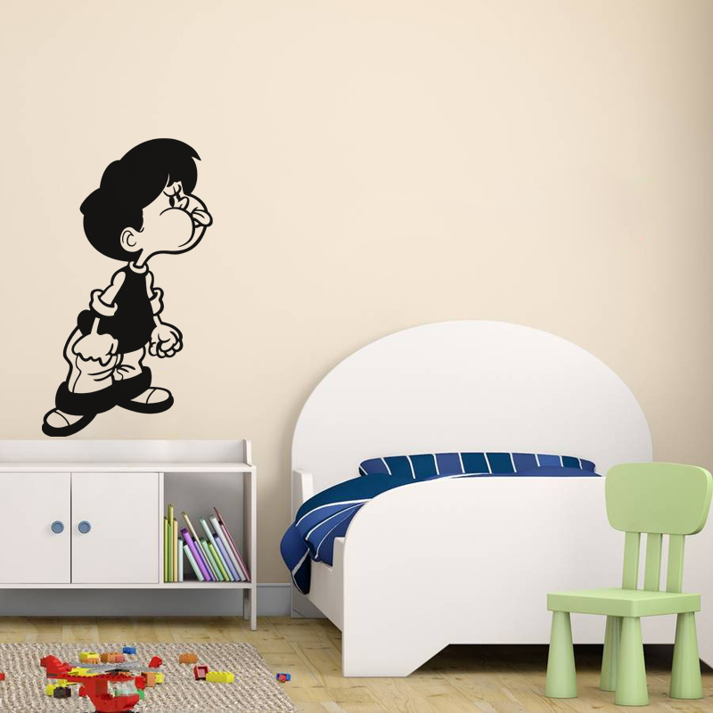sticker petit gar on faisant des grimaces stickers b b s. Black Bedroom Furniture Sets. Home Design Ideas