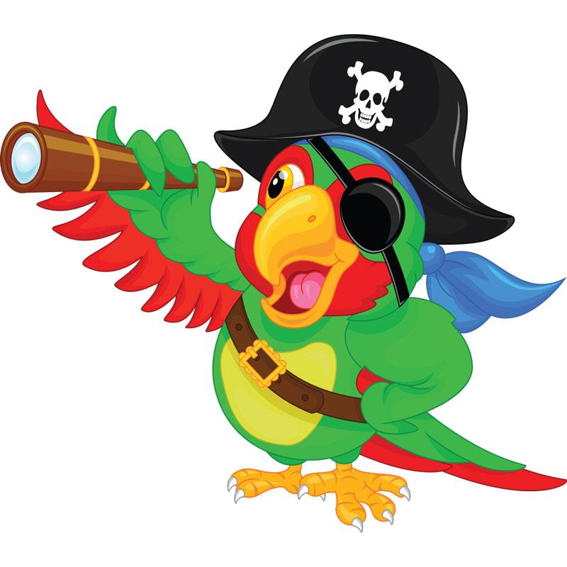 sticker pirate un perroquet sympatique stickers animaux parrot clip art png parrot clipart images