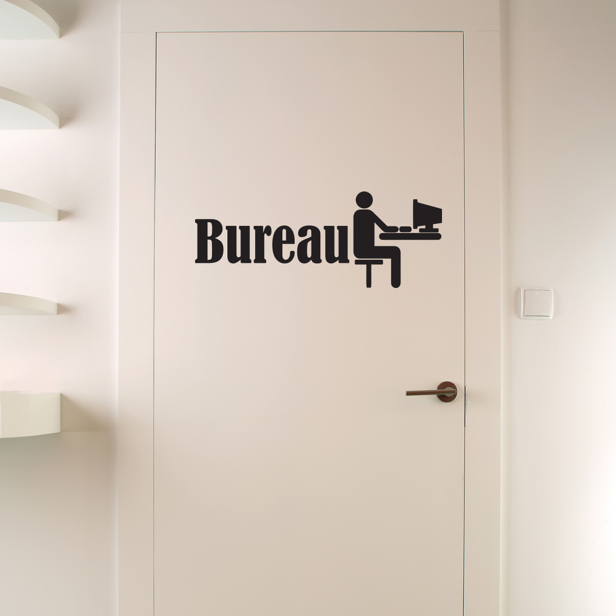 Sticker porte bureau stickers mini stickers geek - Porte photo bureau ...