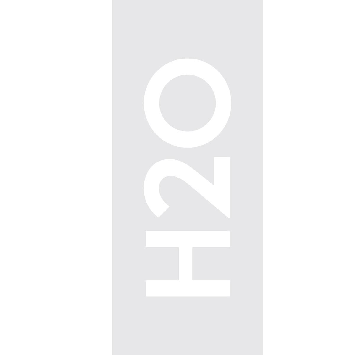 Sticker porte de douche h2o stickers salle de bain porte - Stickers pour porte de douche ...