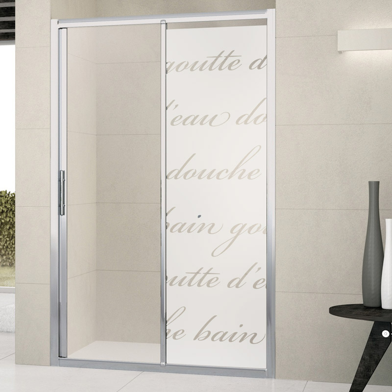 Sticker porte de douche douche litt raire stickers art - Stickers pour porte de douche ...