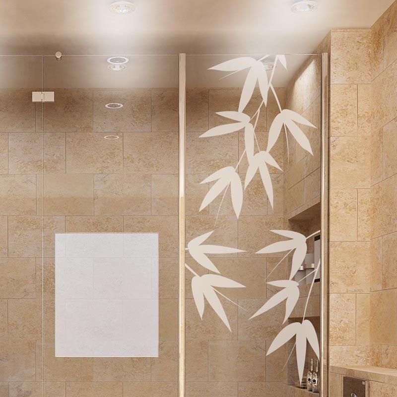 Stickers porte de douche 20171011031526 for Stickers salle de bain douche