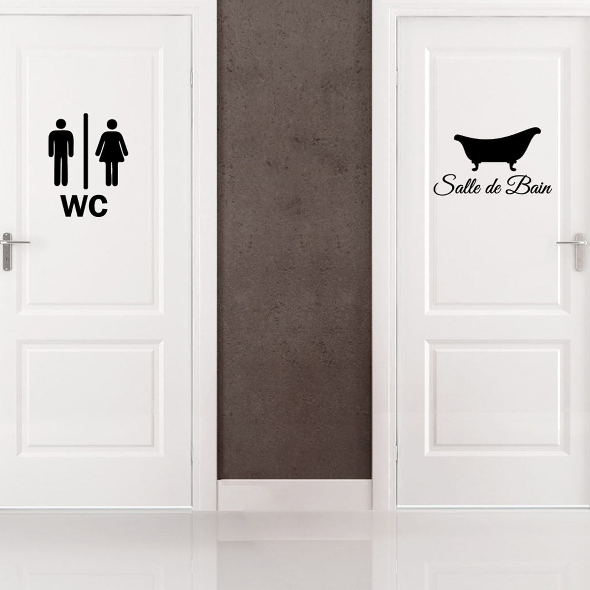 stickers pour hublot porte wc stickers design. Black Bedroom Furniture Sets. Home Design Ideas