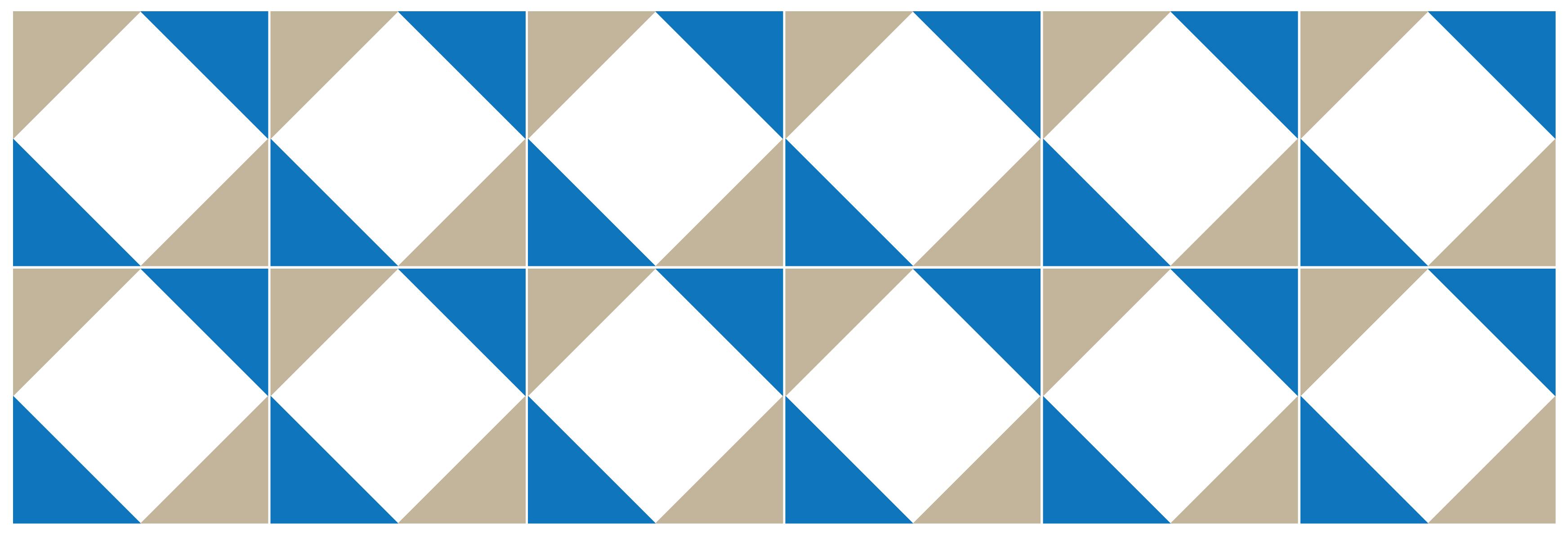 sticker pour carrelage g om trique bleu blanc et gris. Black Bedroom Furniture Sets. Home Design Ideas