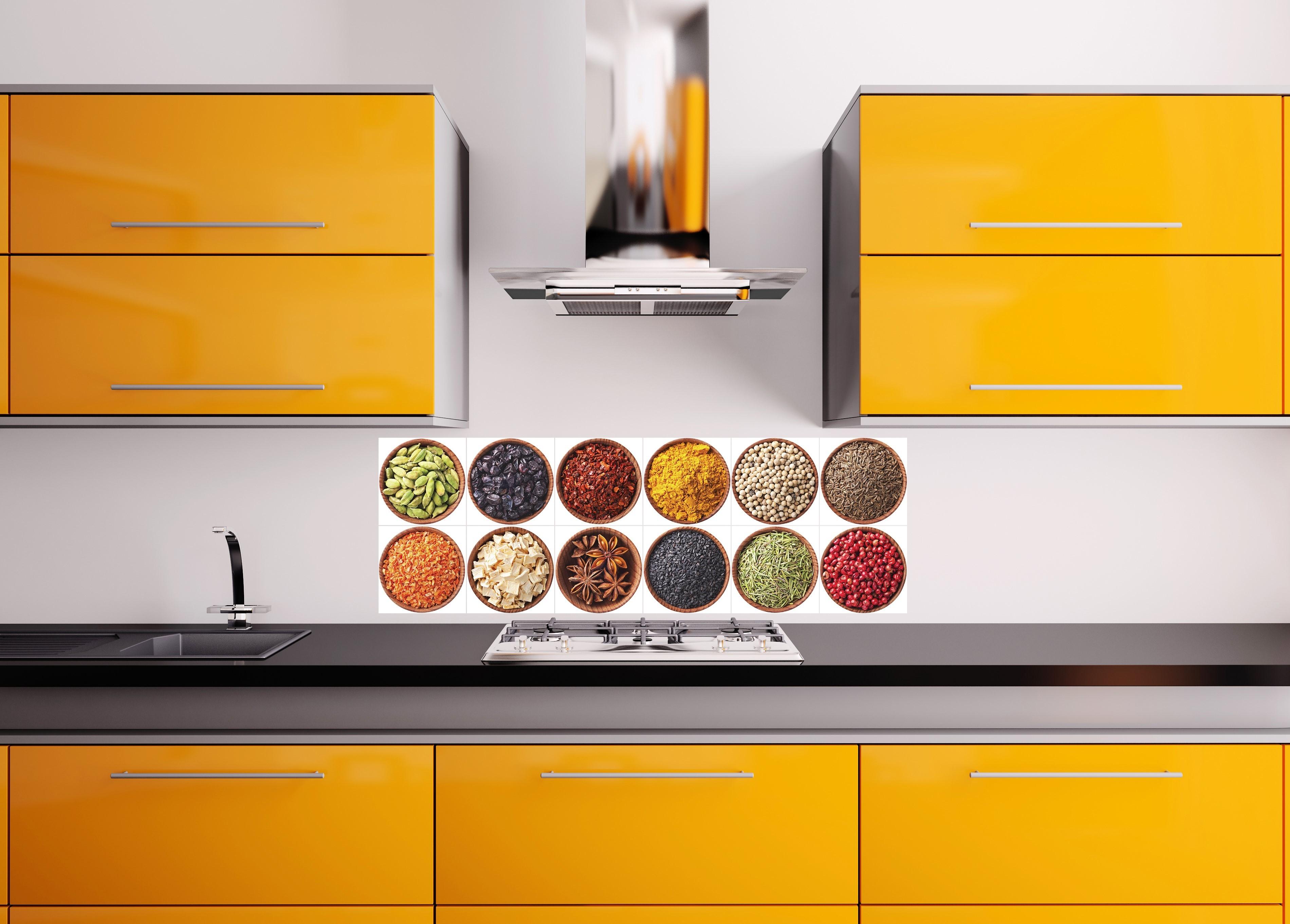 Sticker pour carrelage les pices stickers cuisine - Sticker carrelage cuisine ...