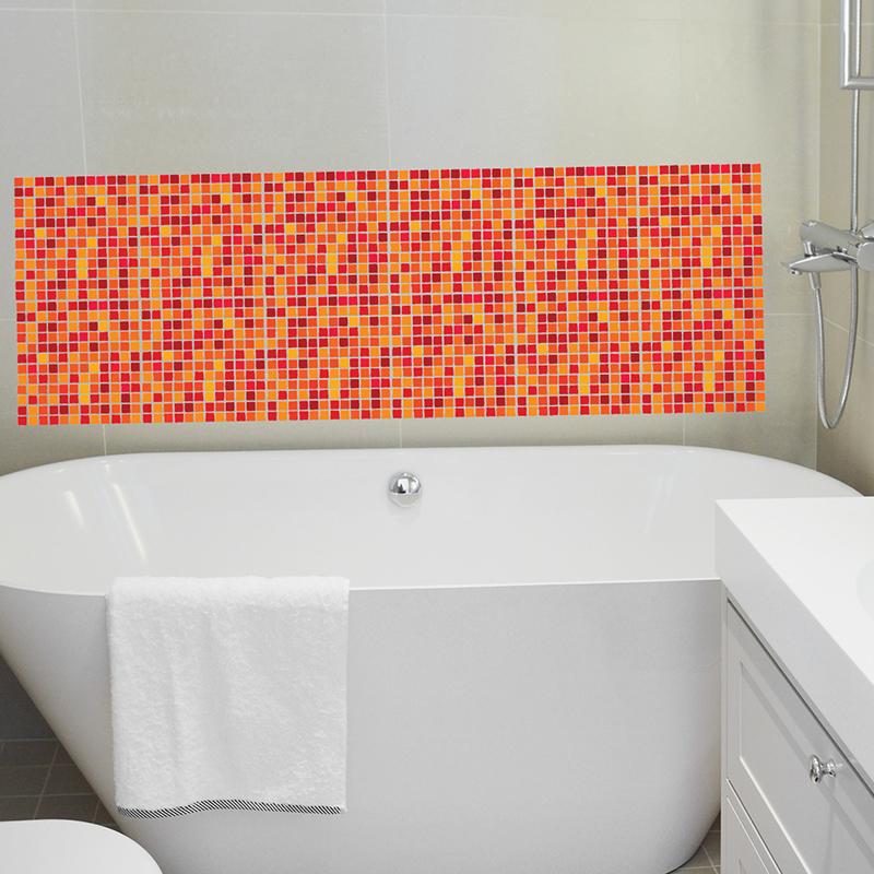 sticker pour carrelage mosa que stickers art et design ambiance sticker. Black Bedroom Furniture Sets. Home Design Ideas