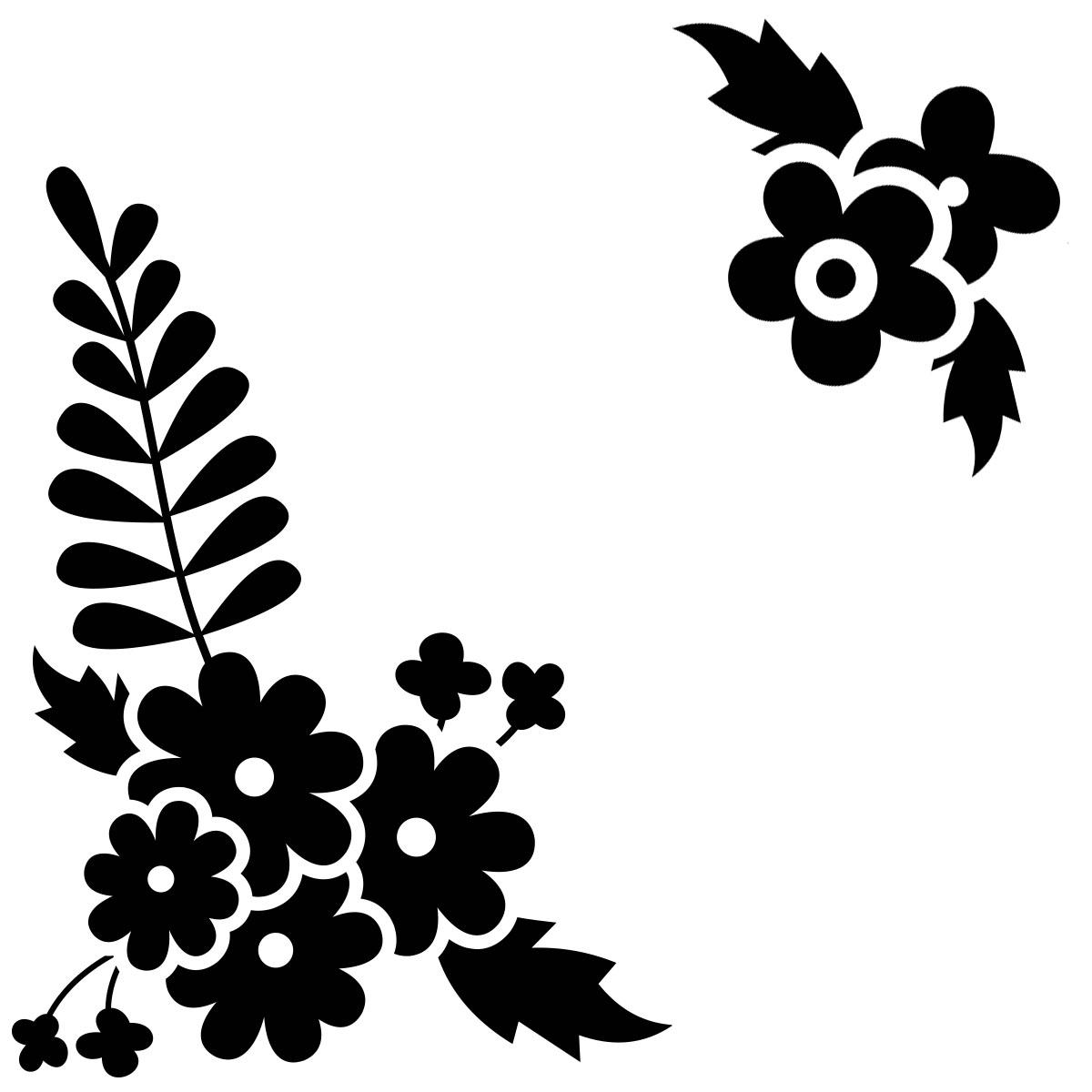 sticker pour pc vari t s de fleurs nature fleurs ambiance sticker. Black Bedroom Furniture Sets. Home Design Ideas