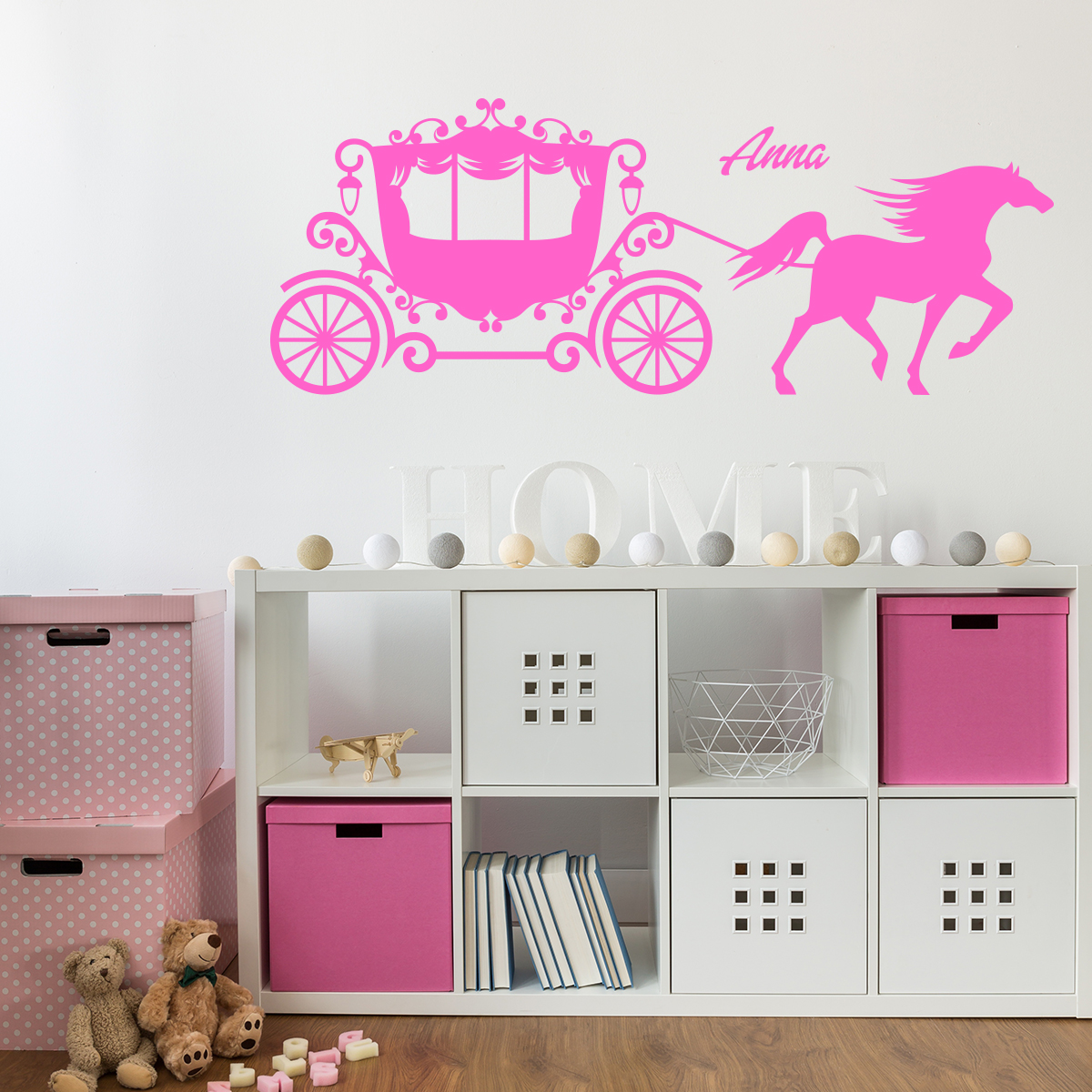 sticker pr nom personnalisable cal che texte. Black Bedroom Furniture Sets. Home Design Ideas