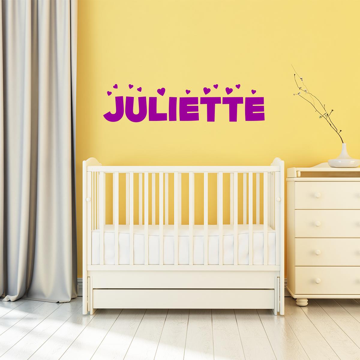 Sticker pr nom personnalisable enfants blouissant stickers chambre enfants chambre b b - Stickers prenom porte chambre ...