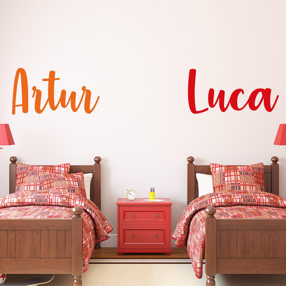 sticker pr nom personnalisable manuscrit chouette. Black Bedroom Furniture Sets. Home Design Ideas
