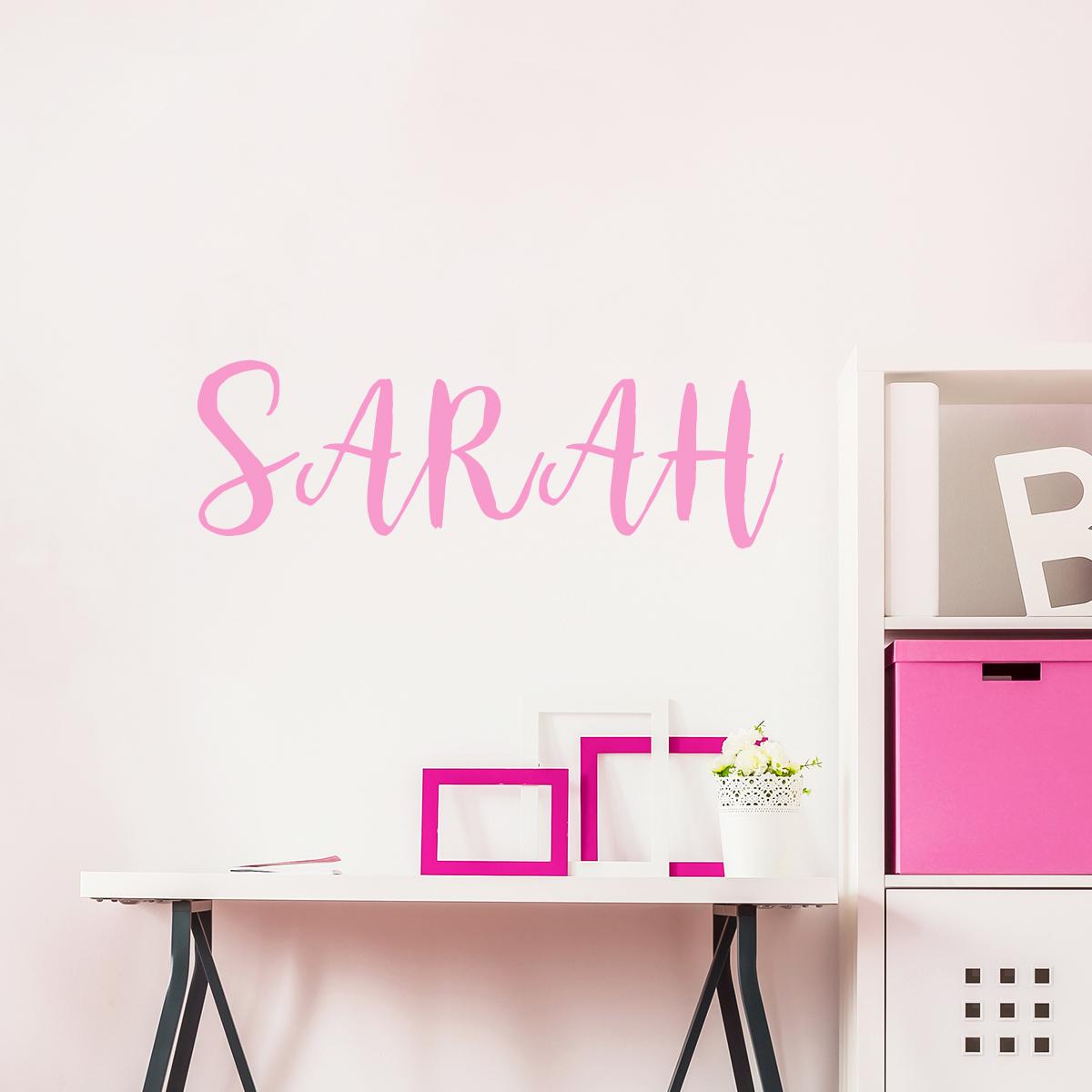 sticker pr nom personnalisable marqueur stickers chambre. Black Bedroom Furniture Sets. Home Design Ideas