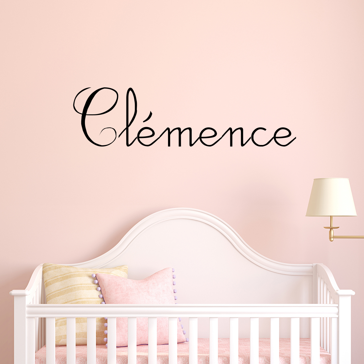 sticker pr nom personnalisable scolaire c leste stickers chambre enfants chambre b b. Black Bedroom Furniture Sets. Home Design Ideas