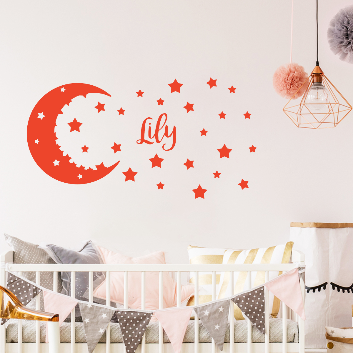 sticker pr nom personnalis ciel toil mini stickers. Black Bedroom Furniture Sets. Home Design Ideas