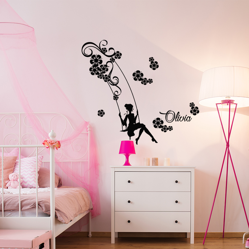 sticker pr nom personnalis sur la balan oire nature. Black Bedroom Furniture Sets. Home Design Ideas
