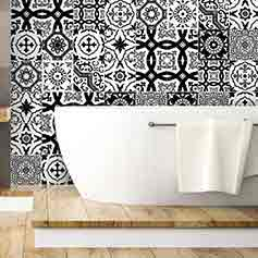 stickers carrelages stickers carrelage deco ambiance sticker. Black Bedroom Furniture Sets. Home Design Ideas