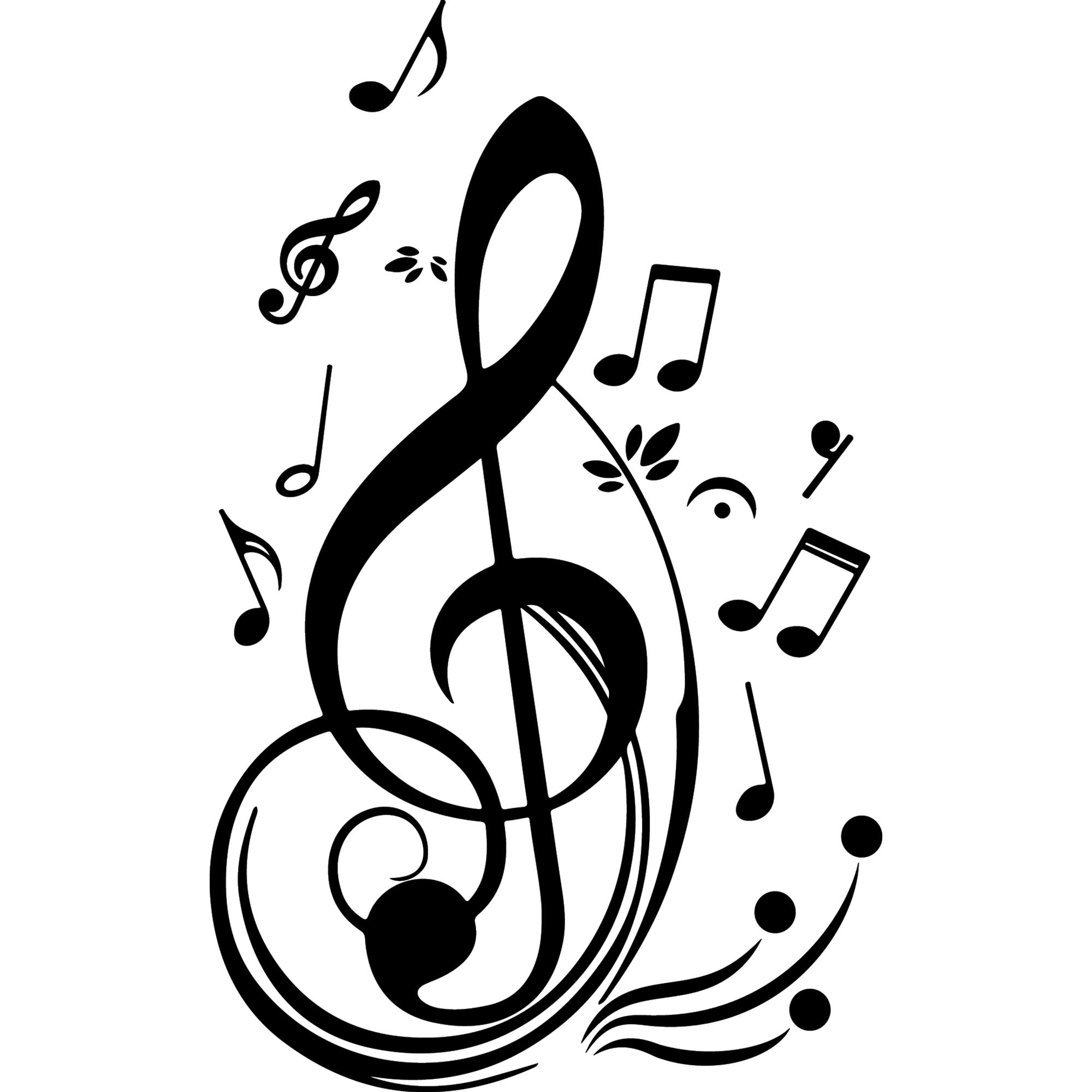 sticker quelques notes de musique stickers musique christian clipart free christian clipart public domain