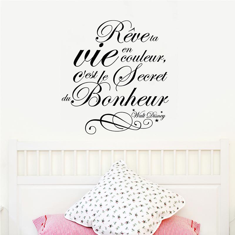 sticker r ve ta vie en couleur walt disney stickers. Black Bedroom Furniture Sets. Home Design Ideas