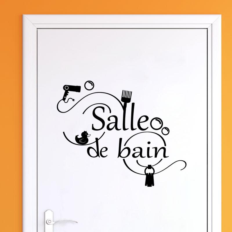 Sticker Salle De Bain Accessoires – Stickers Salle De Bain