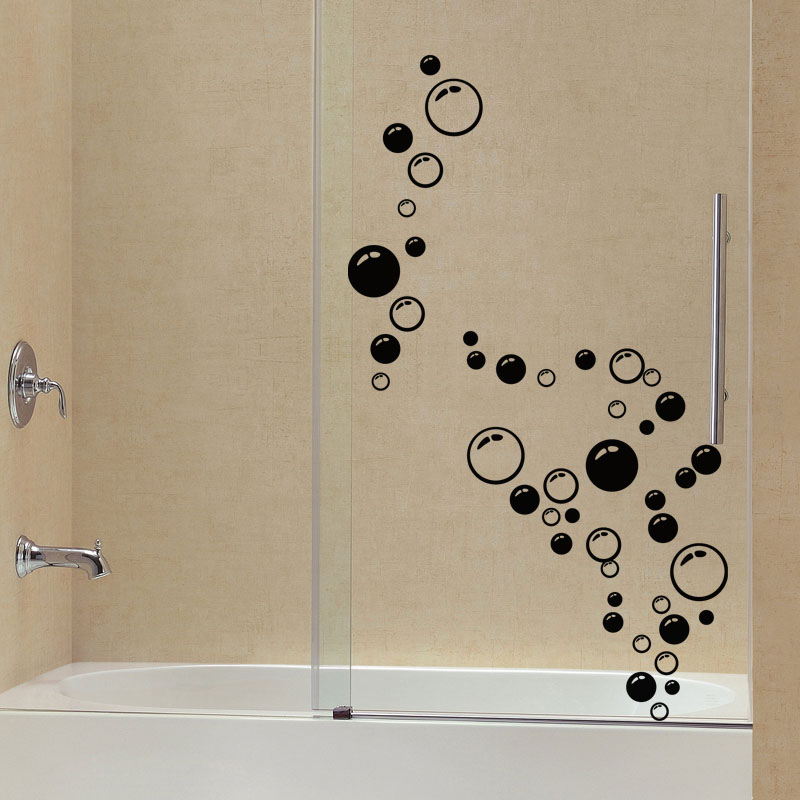 sticker salle de bain bulles de savons stickers art et design bulles et cercles ambiance sticker. Black Bedroom Furniture Sets. Home Design Ideas