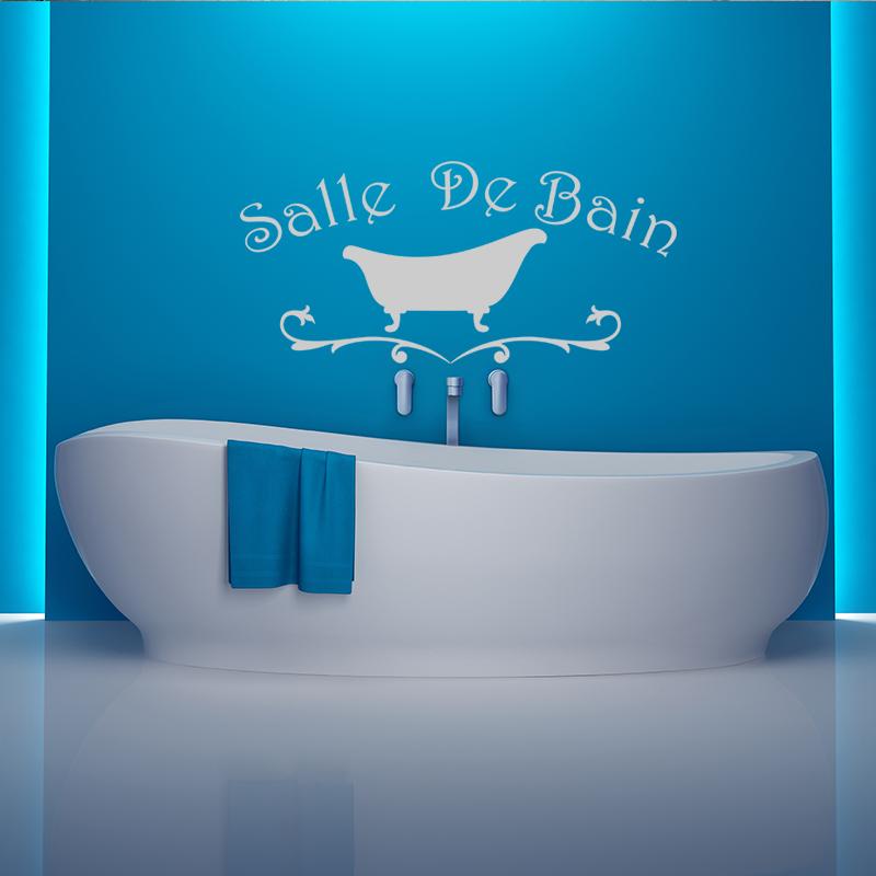 Sticker salle de bain design baignoire stickers salle de for Stickers salle de bain enfant