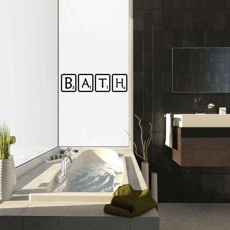 stickers muraux pour salle de bain sticker salle de bain. Black Bedroom Furniture Sets. Home Design Ideas