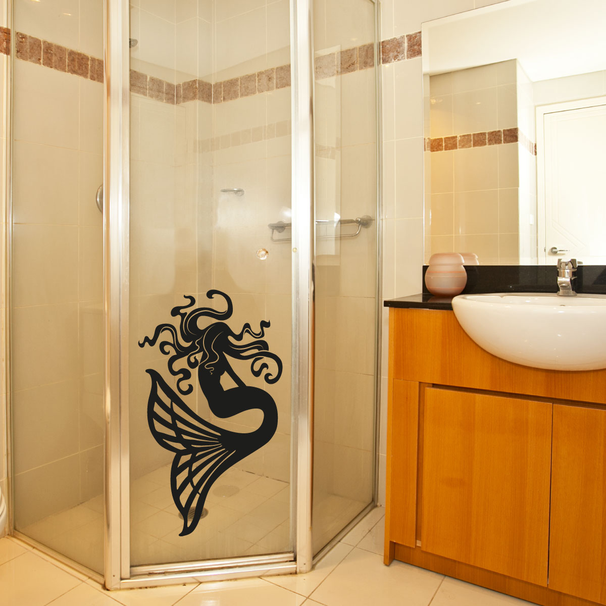 stickers muraux pour salle de bain sticker mural sir ne ambiance. Black Bedroom Furniture Sets. Home Design Ideas