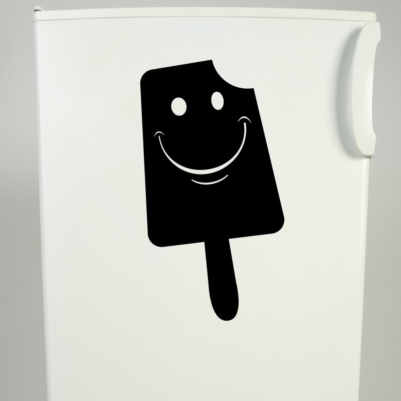 stickers muraux avec sourire sucette glac e. Black Bedroom Furniture Sets. Home Design Ideas