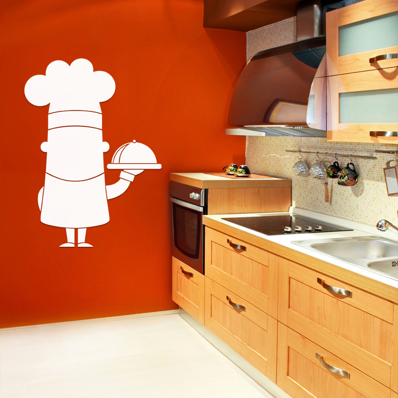 Sticker tableau blanc caricature chef de cuisine - What is a chef de cuisine ...