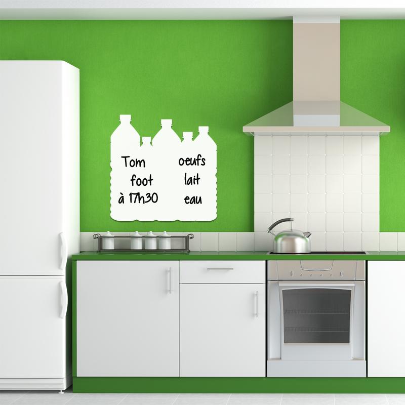 sticker tableau blanc design bouteilles stickers tableaux blancs tous les tableaux blancs. Black Bedroom Furniture Sets. Home Design Ideas