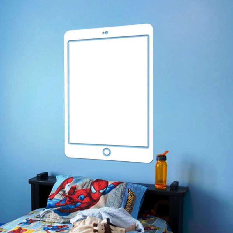 sticker tableau blanc design smartphone gar ons tous les stickers gar ons ambiance sticker. Black Bedroom Furniture Sets. Home Design Ideas