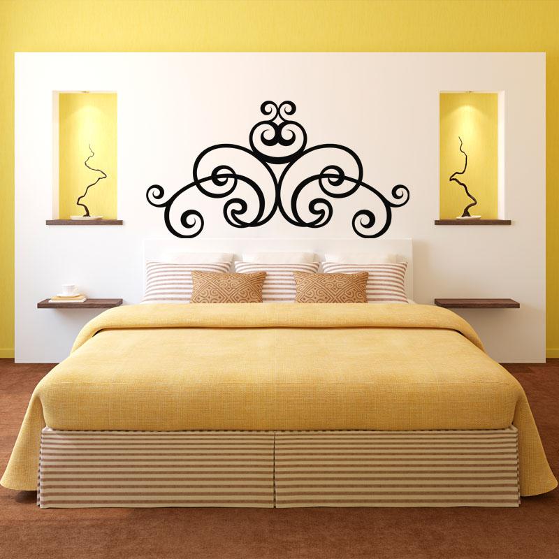 Sticker tête de lit arrondie – Stickers Chambre Têtes de