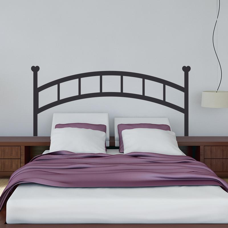 stickers oriental tete de lit affordable sticker tte de. Black Bedroom Furniture Sets. Home Design Ideas