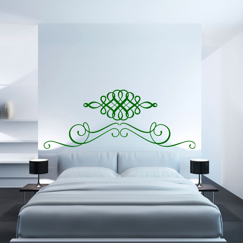 sticker t te de lit duo stickers chambre t tes de lit ambiance sticker. Black Bedroom Furniture Sets. Home Design Ideas