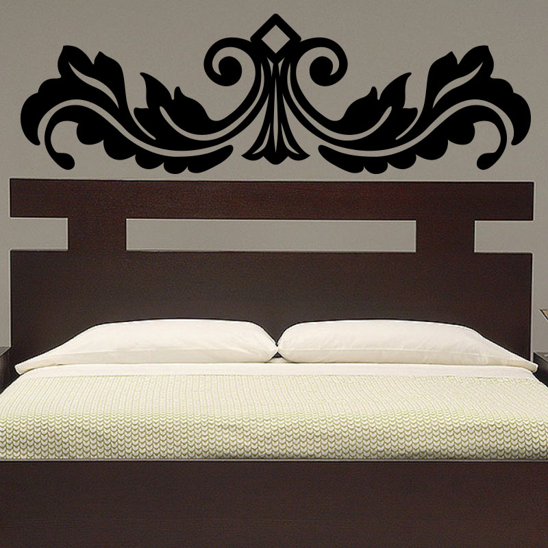 sticker t te de lit original stickers chambre ambiance. Black Bedroom Furniture Sets. Home Design Ideas