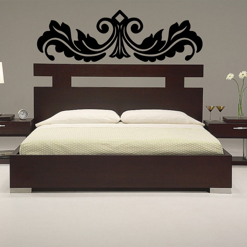 sticker t te de lit original stickers chambre ambiance. Black Bedroom Furniture Sets. Home Design Ideas
