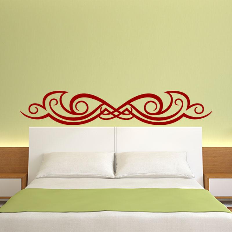 sticker t te de lit tribal stickers chambre t tes de lit ambiance sticker. Black Bedroom Furniture Sets. Home Design Ideas