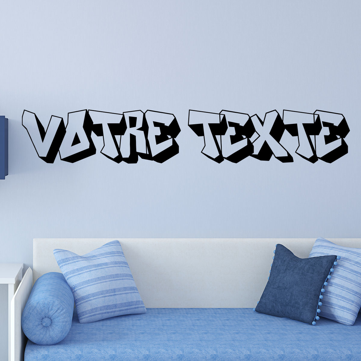 sticker texte personnalis graffiti stickers professionnels stickers vitrine magasin. Black Bedroom Furniture Sets. Home Design Ideas