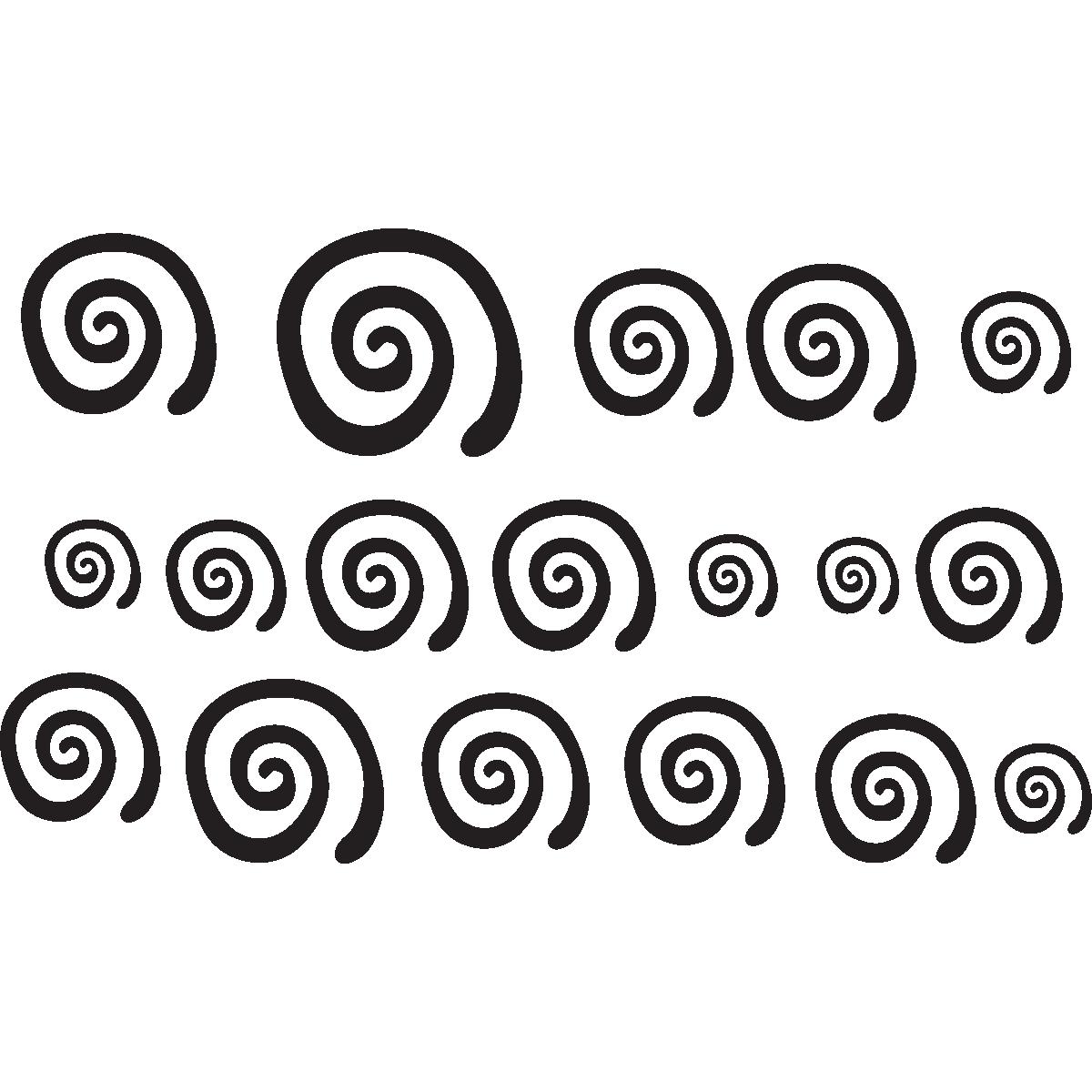Stickers muraux pour les enfants sticker tourbillon pour for Stickers om pour chambre