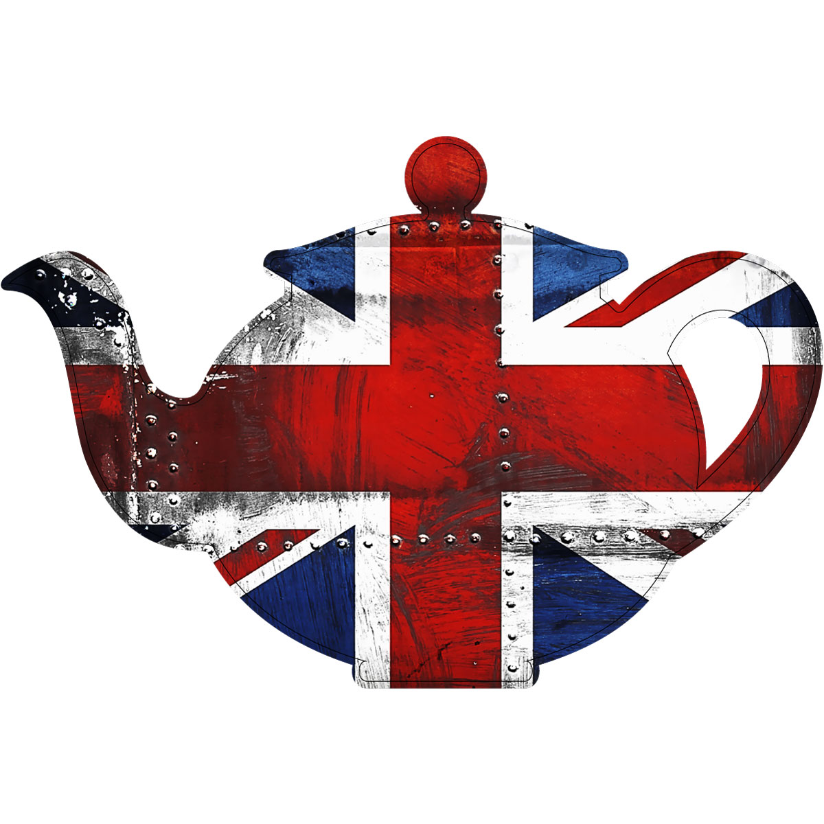 stickers muraux animaux sticker une th i re union jack ambiance. Black Bedroom Furniture Sets. Home Design Ideas